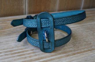 Harnais mouffette celtic bleu