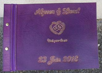 Livre d'or de mariage Alysson et Lionel