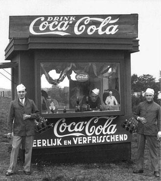 Coca-Cola devient partenaire des Jeux à Amsterdam en 1928