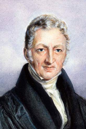 Portrait of Malthus