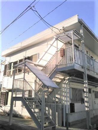 外壁・階段屋根交換