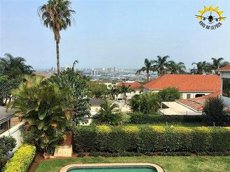 Tolles BnB mit Skyline-Blick auf Durban.