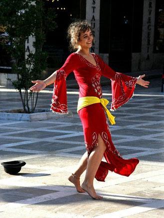 Granada, Tänzerin