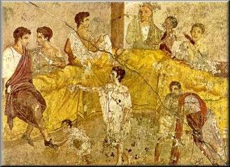 Il galateo del banchetto colonia iulia fanestris for Cibi romani