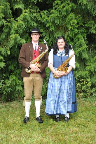 Saxophon: Dominik Engelhardt, Isabell Engelhardt