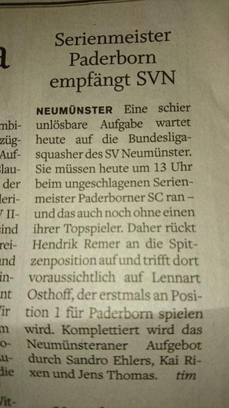 Vorbericht 4. Spieltag 2015/2016