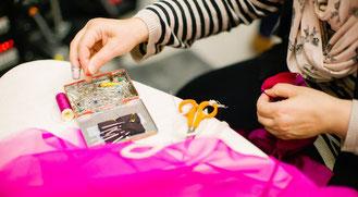 Modedesign zeichnen und Mode Näh Workshops für Teenager