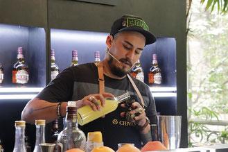 Bartender Coyoame Huarte Chivas Regal Masters
