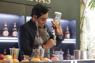 bartender alan gonzalez chivas regal masters