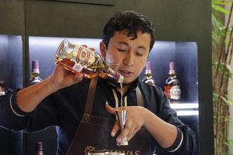 Bartender Oscar Armenta Chivas Regal