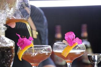 Chivas Regal Cocktail bugambilia