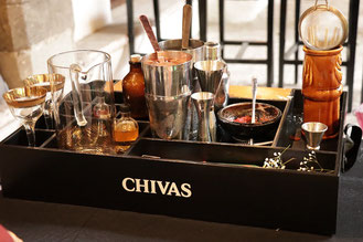 Mise En Place chivas regal masters