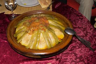 Taijine in Marokko