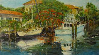 old boats by Sea Ranch Lake/Pompano Beach