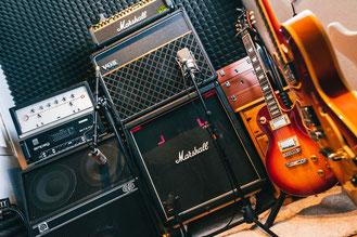 Equipment in unserm Tonstudio - JAK's Hell - Tonstudio