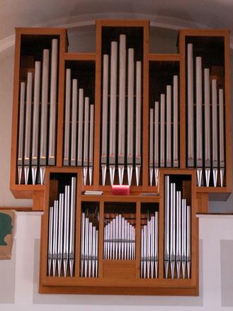 Evangelische Kirche  Mörbisch am See                  /Fertőmeggyes - erbaut durch Gebrüder Krenn - 1986