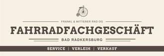 Fahrradfachgeschäft Bad Radkersburg Fahrräder Verkauf Verleih Service