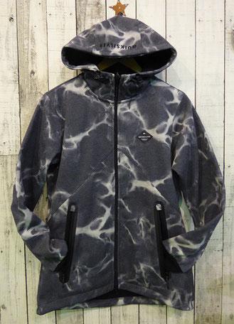 これはジャケットタイプでウォームポケットが防水ファスナーです。¥14,000+Tax