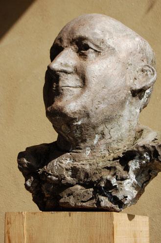 portret Jack Vinders klei