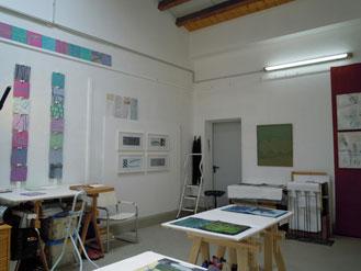 das atelier am tag der offene tür