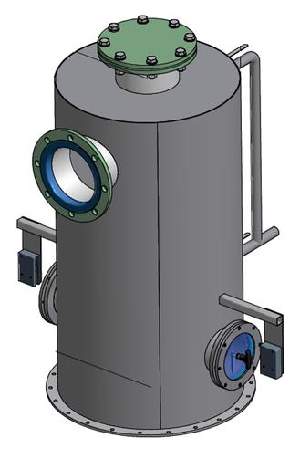 Filtro eliminación de espumas en el biogás - foam separation biogas