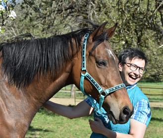 horse-feedback.ch - Monica Giedemann & Co-CoachRoma vom Verein «Zweites Leben für Sportpferde»