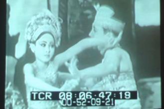 少女時代のイブ・ラカ(Gusti Ayu Raka Rasmi)