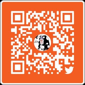 塚田牛乳公式Twitter QRコード