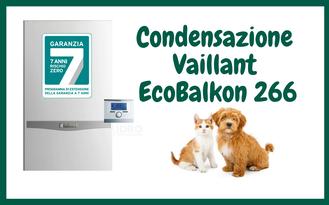 PROMOZIONE CALDAIA VAILLANT ECOBALKON 266 A CONDENSAZIONE IN OFFERTA A TORINO INSTALLAZIONE  E SOSTITUZIONE  COMPRESA NEL PREZZO A 2350,00 EURO