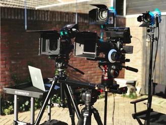 Virtual 1 op een film set
