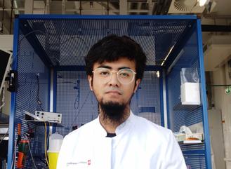 Doctoral student Katarzyna Wieciorek