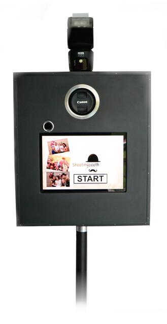 Aufbau und Installation der Fotobox