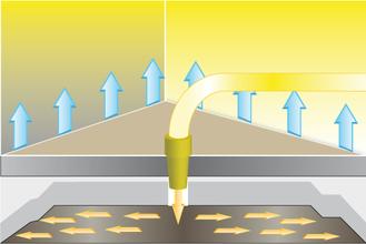 Wasserschaden Überdruckverfahren
