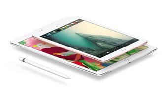 iPadの操作風景