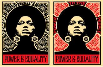 Shepard Fairey Afrocentric