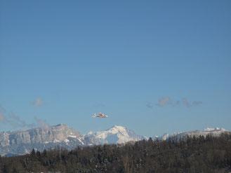 Twinstar et le Mont Blanc
