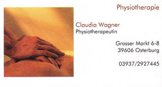 Physiotherapie Claudia Wagner