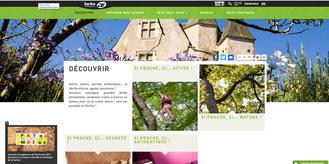 Site internet de Sarthe Développement