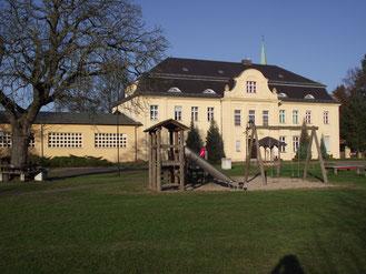 Gästehaus Schloss Wahlsdorf mit Turnhalle/Mehrzweckhalle
