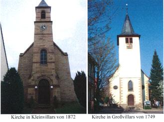 Die Villarser Waldenserkirchen