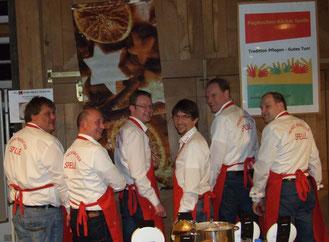 (v.l.n.r.): Stefan Heeke, Andreas Brüggemann, Andreas Teders, Reiner Baltes, Martin Rekers, Klaus Sändker