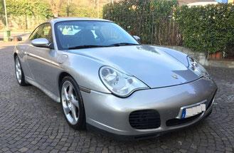 Vendita auto Porsche 996 Carrera in occasione a Brescia uscita dal casello autostradale di Rovato a 15 min. da Bergamo