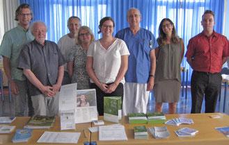 LFF Vorstand, Prim. Dr. Errhalt, OA Dr. Zwick, IPF Nurses