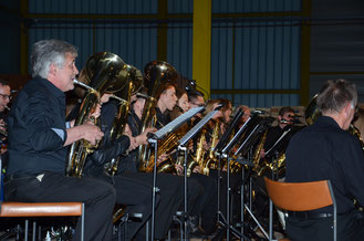 Die Musiker des Musikvereins Altenrheine freuen sich auf viele Gäste bei ihrem Jahreskonzert