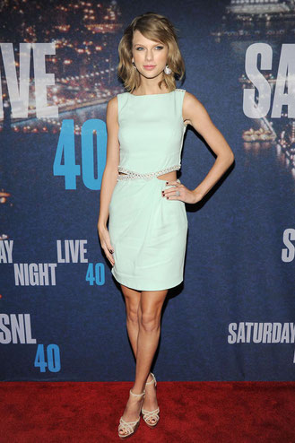 "Taylor Swift at the ""SNL 40"" Event (2015)"