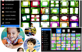 Pizap has plenty of collage template