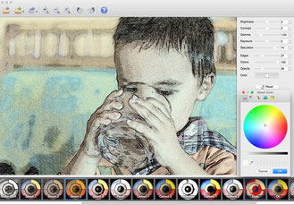 Xnsketch transform photo in sketch and draw alike