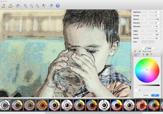 Xnsketch transform photo in sketch and draw alike