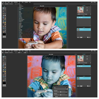 Pixlr Editor is a true Photoshop look alike