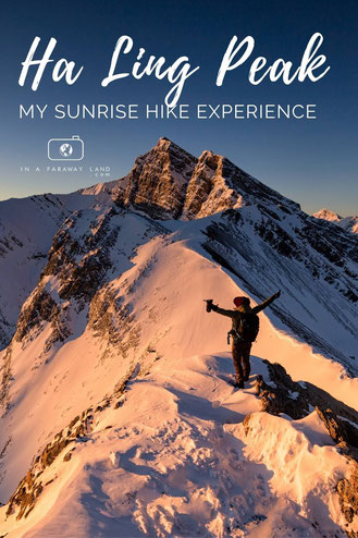 My experience hiking up Ha Ling Peak near Canmore for sunrise. Hiking for few hours in the early morning hours in unfavorable trail conditions can be difficult, but the reward at the end was worth it.